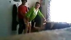 desi mom fuck secretly with husband friend