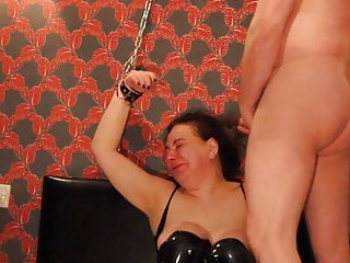 Ugly guys fuck sluts in public - Ugly arab russian slut chained up, face fucked cim bdsm