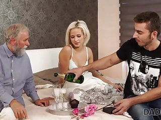 Free clips old and young sex Daddy4k. old and young sex experiment is a birthday gift