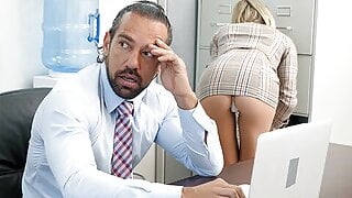 PASSION-HD – Office Tease Gets Boss' Dick Hard
