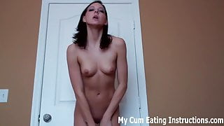 Cum twice and then eat blow loads CEI