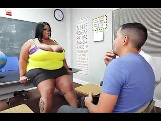 Black big dick porn - Monster titted teacher candi and two detentioned dicks
