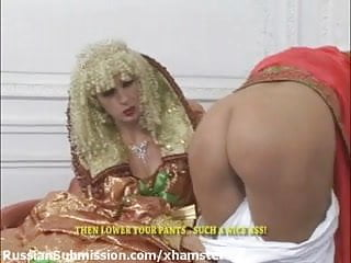 Paying for breast augmentation Silly blond peasant girl is paying for her treacherous betra
