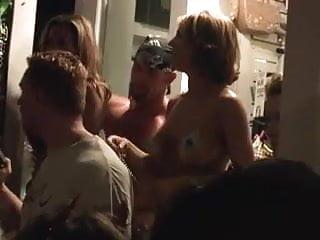 Big titty suck off Mardi gras titty suck
