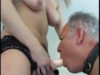 Hairy grandpa gay cock Strapon hairy grandpa
