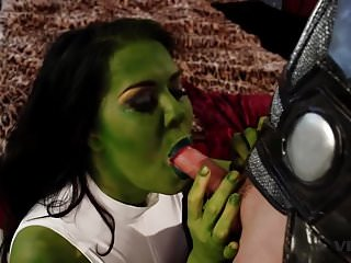 Vivid sex toys - Super heros fuck to see who is the horniest avenger