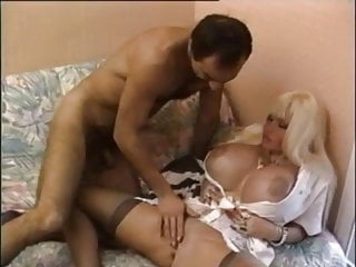 Big blonde interracial movie tit Double airbags big tits movie