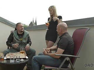 Guy fucking girl nicely - Daddy4k. beautiful girl nicely fucked on sofa in old and you
