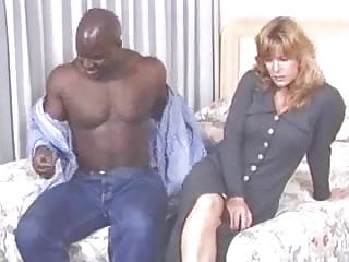 Large redheaded milf getting black cock Alex jordan gets buttfucked by a large black man.