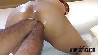 Double anal fisting Latina amateur Maria