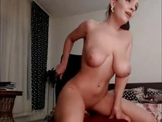 Sexy brunette jpg Sexy brunette sucks rides dildo on cam