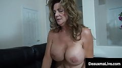Big Dick Debt Collector Collects On Texas Cougar Deauxma!