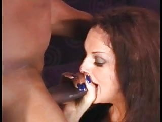 Sexy ass anal - Sexy brunette nice tits bubbly ass anal sex by moster of cock on the couch