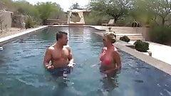 Meeting Mom In A Bikini By The Pool