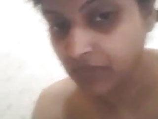 Nudist at friends house Indian desi house wife bathroom selfie and talk