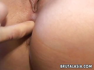 Can a man penis get stuck in a woman vigina - Bubble butt asian getting it stuck in there