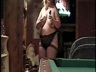 Pussy play darts Strip darts 4