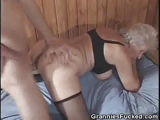 Doggy style fucking pics Granny loves cum and doggy style fucking