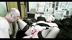 Reputable housemother fucks like a cat with a lover ... ))