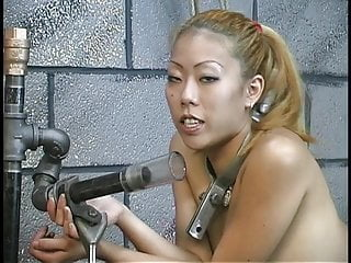 In the dungeon gay - Hot young asian cock sucker gives master len a blowjob in the dungeon