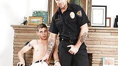 Gay Cop Trenton Ducatti Fucks a Twink Dude