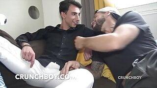 Sandro fucked bareback by the french pornstar Kevin DAVID fo