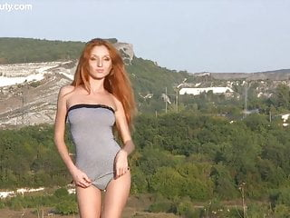 Field of ass The sexiest redhead, michelle h, field of dreams
