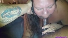 BBW Wife Takes BBC