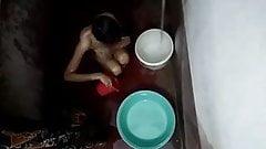 Sister bathing spy camera
