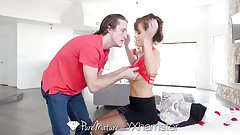 PURE MATURE Alana Cruise pampered with massage on Valentines