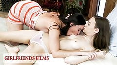 GirlfriendsFilms - Dana DeArmond Seduces Shy Teen