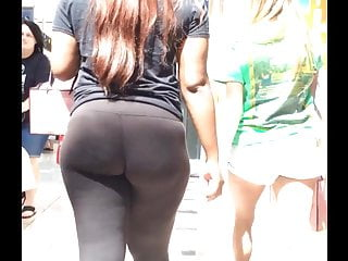 Phat big butts 50 inch asses Phat bubble butt in black spandex