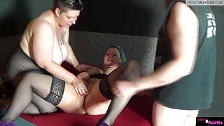 Poppy Rockrose - Hard threesome