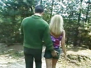 Teen nick on nickelodeon Naughty nature lovers dori and nick enjoy a backwoods romp