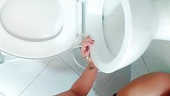 Human toilet, slave anal, pee in ass, -aprilbigass-