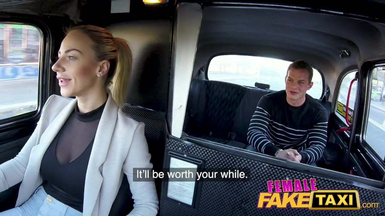 Czech Fake Taxi