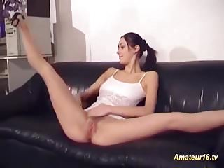 Naked contortionist woman - Real flexible contortionist fucked