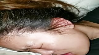 Amateur Asian Facial Compilation 1
