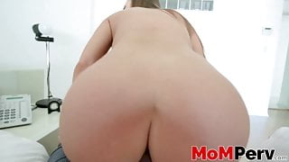 Stunning MILF Britney Amber services stepson with cowgirl