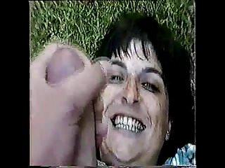 Outdoor facial milf california Veronica outdoor facial