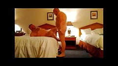Sexy Bear Fucked at a Hotel
