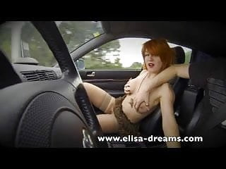 Sex road Flashing and public sex on the road