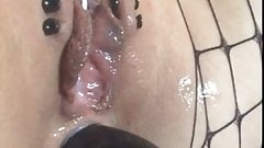 EXTREME PIERCED PUSSY FUCK ANAL SQUIRT CUM TEEN NASTY 18yo