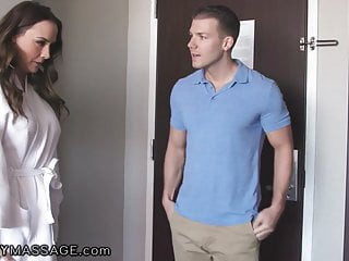 Free hardcore massage movies Fantasymassage hotel offers milf chanel preston a free rub