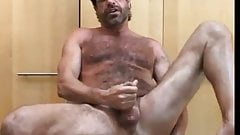 tommylads hairy dad knocks one out full load
