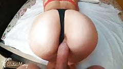 CHEATING WIFE  GETS ACCIDENTAL creampie