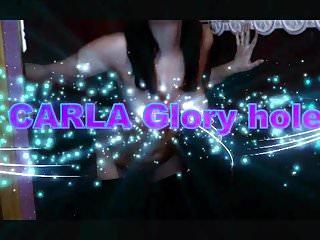 Fregna carla voyeur Carla glory hole partie 1