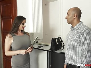Busty abnd real Youmixporn busty real estate milf cathy heaven anal with bbc