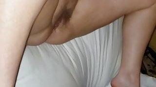 Wife taking black load