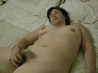 Hot milf masturbates her ass - British milf masturbates her hairy cunt